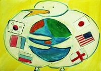 これまでの優秀賞の作品 国際平和ポスターコンテスト